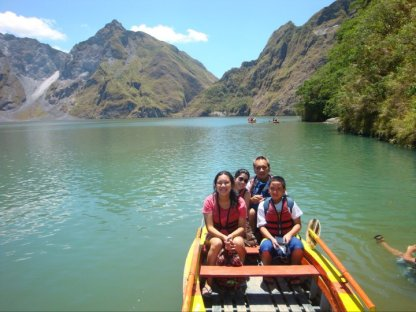 Mt. Pinatubo Labor Day Trek
