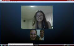 Skype-ing with Cuna