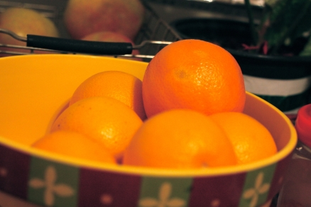 Current addiction #1: Navel Oranges