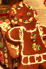 Romina's homemade gingerbread man
