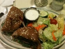 Portobello Mushroom Burger from Mel's